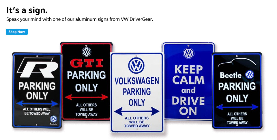 VW Signs
