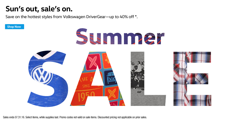 VW Summer Sale